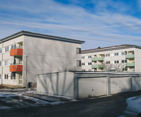 Fasadrenovering, Gårdsten